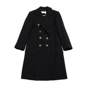 NWT Chloe Manteau Black Coat size 36